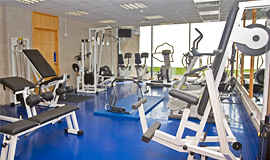 Our gym and fitness suite in the leisure centre